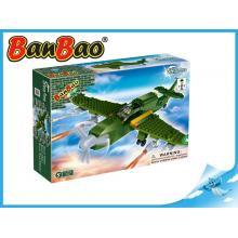 BanBao stavebnice Defence Force bitevní letadlo 190ks + 1 figurka ToBees