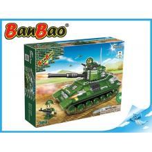 BanBao stavebnice Defence Force tank Centurion 330ks + 2 figurky ToBees