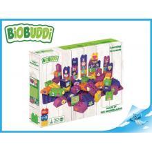 BiOBUDDi stavebnice Learning To Create Young Ones 58ks + 2ks základní deska 18m+