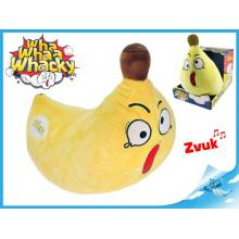 Whaa Whacky Banán 33cm plyšový na baterie se zvukem 0m+