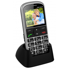 Telefon CPA Halo 11 stříbrný
