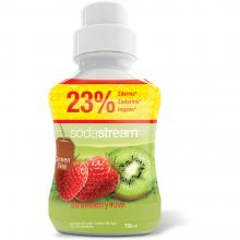 Sirup Green Tee Strawberry 750 ml Kiwi/jahoda