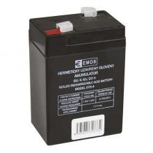 EMOS Bezúdržbový olověný akumulátor 6V 4Ah pro svítilny 3810