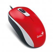 Genius DX-110 červená počítačová myš