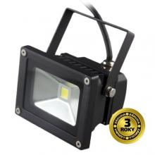 SOLIGHT LED reflektor SMD 10W černý 700lm, 6000K, 1xCOB LED WM-10W-E
