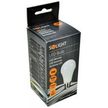 Solight LED žárovka, klasický tvar, 7W, E27, 3000K, 520lm