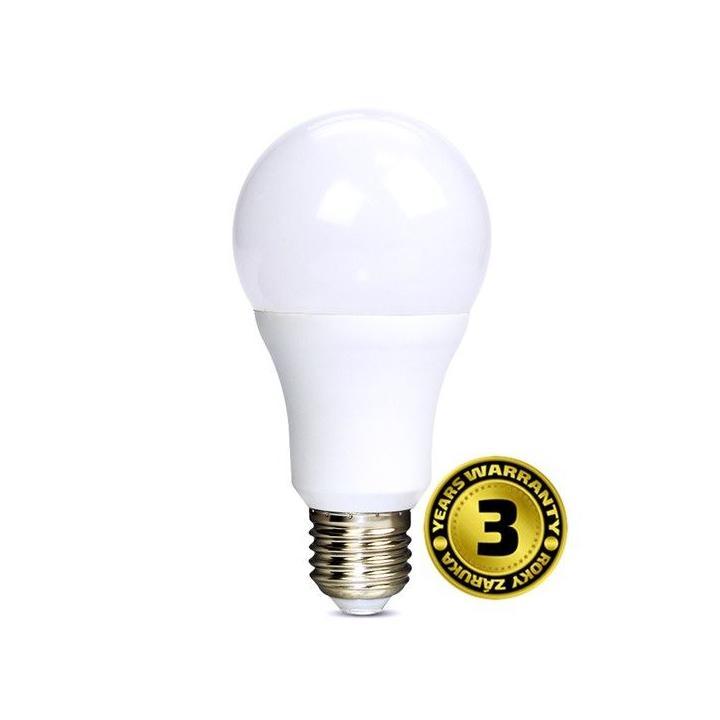 Solight LED žárovka, klasický tvar, 12W, E27, 3000K, 1010lm