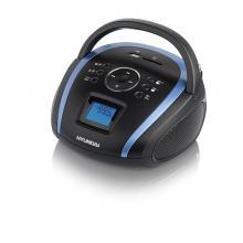Hyundai TR 1088 BT3BBL, MP3/ USB/ SD, černý/ modrý Radiopřijímač
