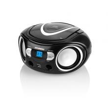 Hyundai TRC 533 AU3BS s CD/ MP3/ USB, černá/ stříbrná Radiopřijímač