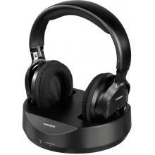 Thomson WHP3001 bezdrátová sluchátka, černá uzavřená