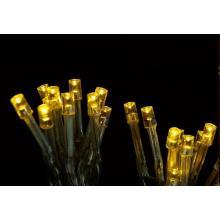 Svíčky  50 LED teple bílé vnitřní řetěz 3,92m+1,5m kabel