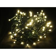 Svíčky 180 LED teple bílé vnitřní řetěz 14,32m+1,5m kabel