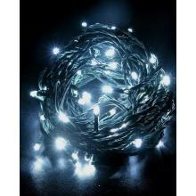 Solight LED vánoční osvětlení programovatelné 300 LED - STUDENÁ BÍLÁ, 24V IP44 1V04-W
