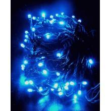 Vánoční osvětlení 96 LED - MODRÉ - programovatelné