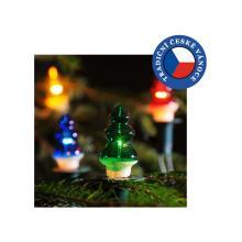 Vánoční souprava strom barevná 10m, rozteč 0,6m, 12x20V/0,1A