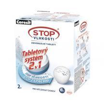 CERESIT Stop Vlhkosti Micro 2v1 náhradní tablety 2 x 300 g