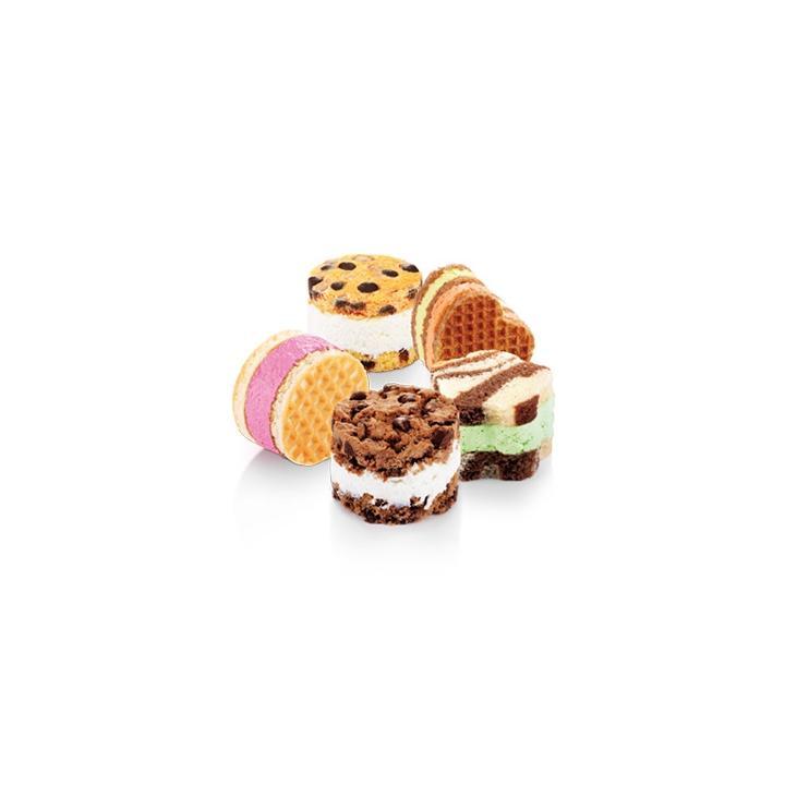 Tescoma Tvořítka na zmrzlinové sendviče BAMBINI, 3 ks
