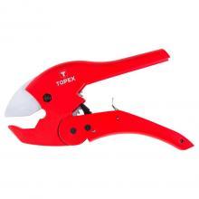 Topex nůžky na trubky z PVC, PE, PP