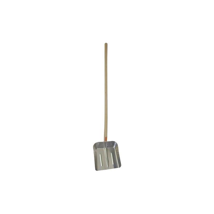Lopata AL střední 2 mm s násadou,310x350mm