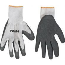 NEO TOOLS rukavice pracovní polyester, velikost 10