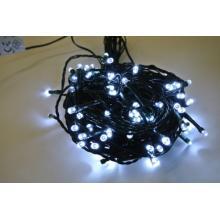 Svíčky venkovní 180 LED studeně bílé, řetěz 14,3m+5m kabel