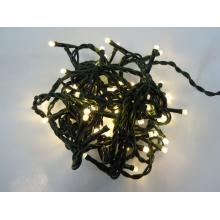 Svíčky venkovní 180 LED teple bílá, řetěz 14,3m+5m kabel