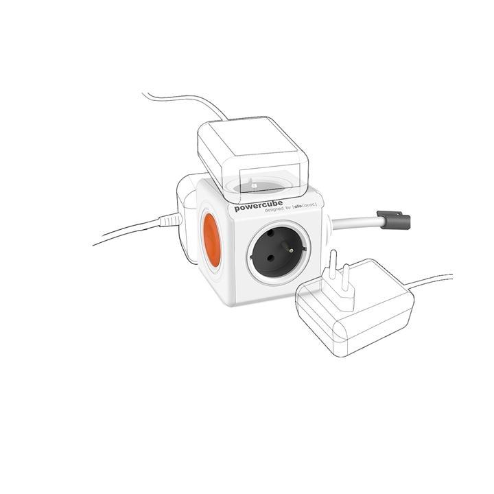 POWERCUBE Extended Remote SET Zásuvka 1,5m/4zásuvky