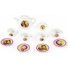 Smoby porcelánová čajová souprava Máša a medvěd 12 dílů 310581