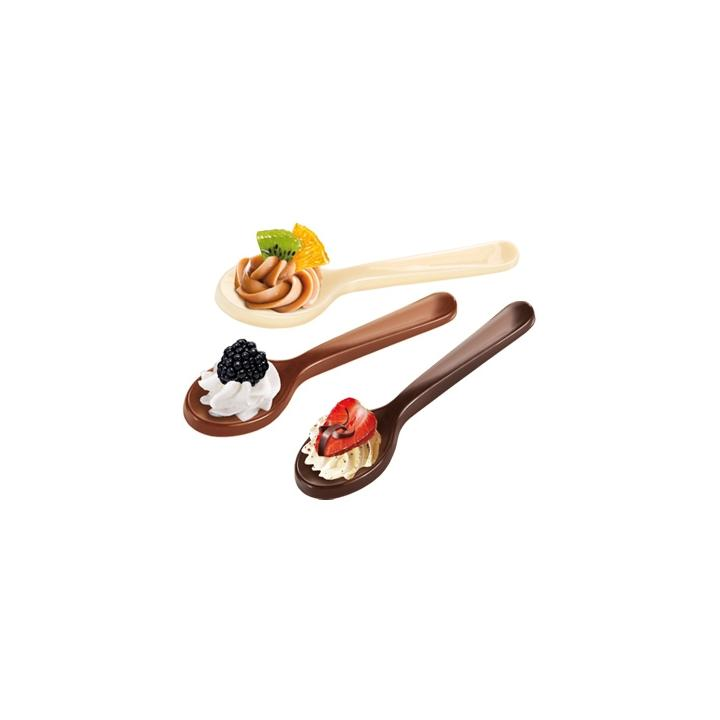 Tescoma Formičky na čokoládu DELÍCIA CHOCO, lžičky