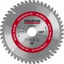 Pilový kotouč univerzální 210 mm, 48 Z Kreator KRT023200