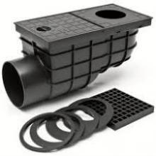 PVC KV 110-B lapač písku boční