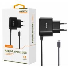 Nabíječka Aligator 1A micro USB