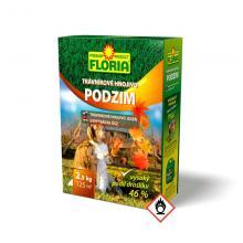 AGRO Floria podzimní trávníkové hnojivo 2,5 kg