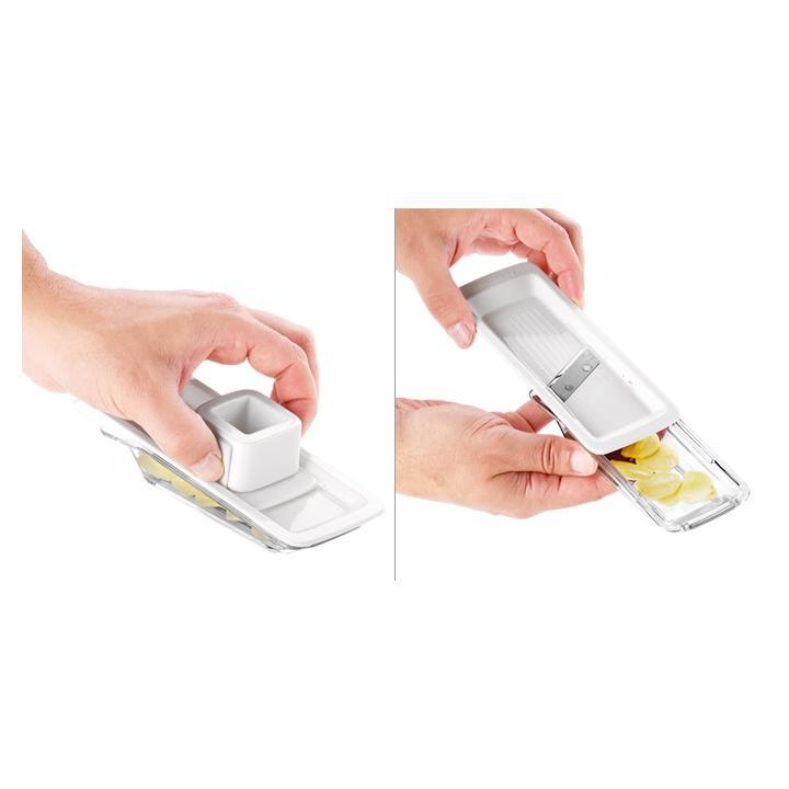 Tescoma Plátkovací struhadlo na česnek HANDY