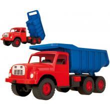 auto Tatra 148 modro červená