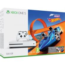 Xbox One S 500 GB Herní konzole Microsoft Forza Horizon 3 Hot Wheels