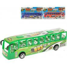 611200 Autobus 27cm na setrvačník 3barvy