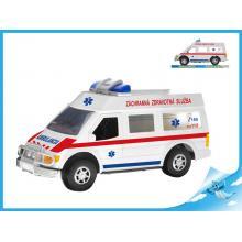 Auto slovenská ambulance 27cm na setrvačník