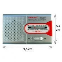 Dekko DK2013 kapesní rádio