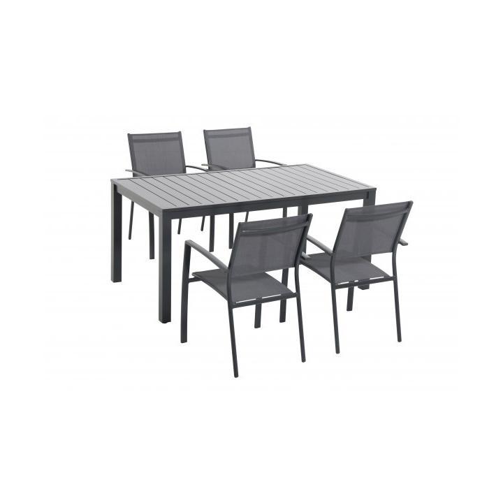 Garland Vital 4+ Sestava nábytku z hliníku