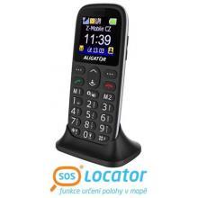 Aligator A 510 mobilní telefon senior black