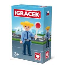 Igráček - Policistka s doplňky