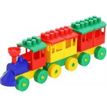 Lokomotiva a dva vagony /+3