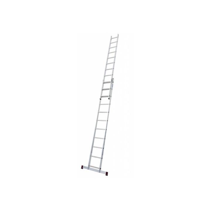 KRAUSE 2x11 Hliníkový žebřík výsuvný