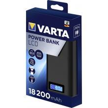 Varta powerbank 18200mA LCD 2xUSB