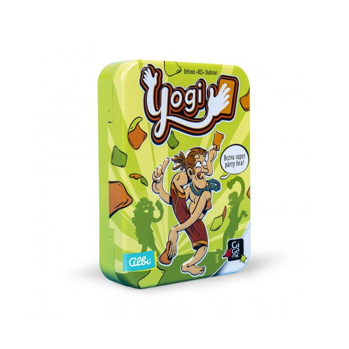 ALBI Yogi - karetní párty hra