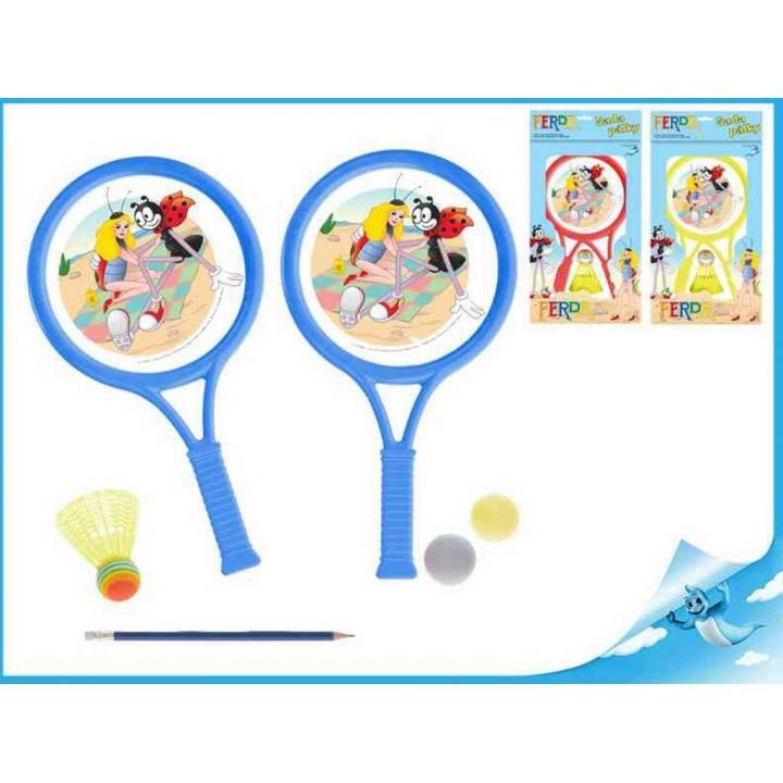 Ferda Mravenec sada tenisová 2 pálky
