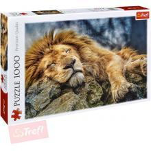 Trefl 10447 Spící lev 1000 dílků