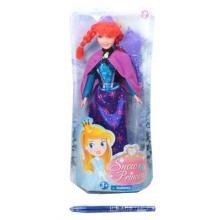 Panenka zimní princezna zrzka 29cm