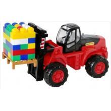 Vysokozdvižný vozík + Stavebnice SuperMix-30 na pal /+1